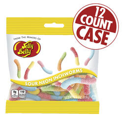 Sour Neon Inchworms 2.3 lb case