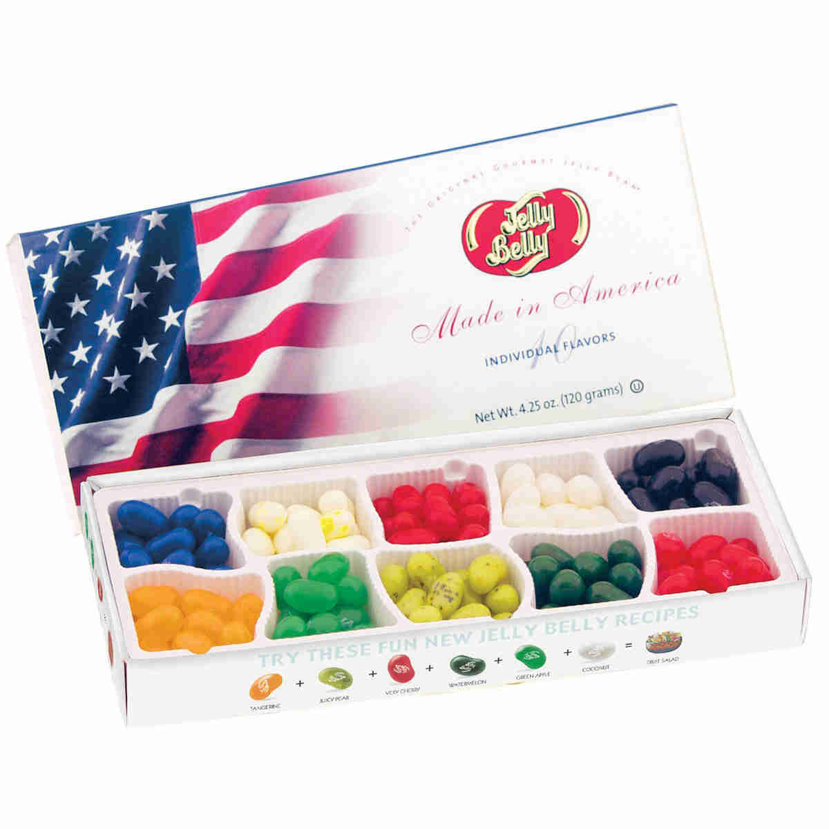 10 Flavor Jelly Bean Patriotic Gift Box