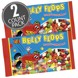 Belly Flops® Jelly Beans - 2 lb. Bag - 2 Pack
