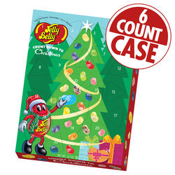 Jelly Bean Count Down to Christmas Calendar - 6 Count Case