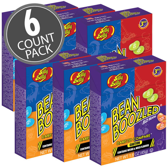 BeanBoozled Jelly Beans - 1.6 oz box - 6 Pack