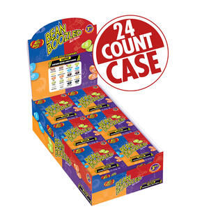 BeanBoozled Jelly Beans - 1.6 oz boxes - 24 Count Case