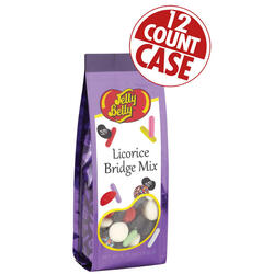 Licorice Bridge Mix - 6.75 oz Gift Bags - 12-Count Case