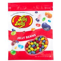 Sours Jelly Beans - 16 oz Re-Sealable Bag