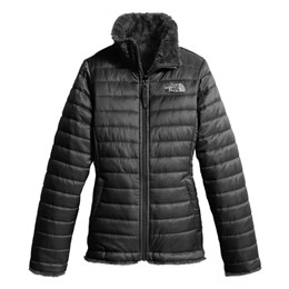 The North FaceGirl's Reversible Mossbud Swirl Winter Jacket
