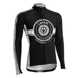 Canari Men's Shift Longsleeve Cycling Jersey