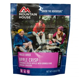 Mountain House Apple Crisp Snack And Desserts