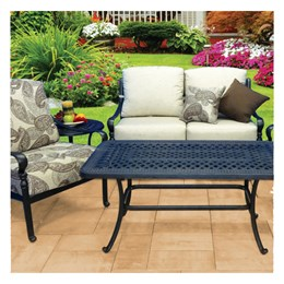 Hanamint Berkshire Loveseat Glider 4-Piece Deep Seating Set