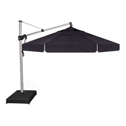 Treasure Garden 13' AKZ Cantilever Umbrella - Navy