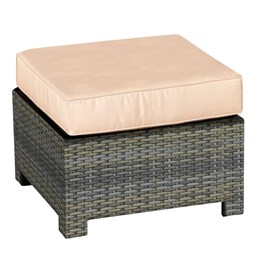 North Cape Cabo Collection Square Ottoman Frame Willow