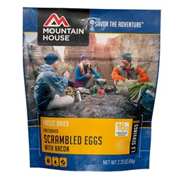Mountain House Scrambled Eggs With Bacon Breakfast Course