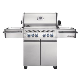 Napoleon Prestige Pro 500 6 Burner Gas Grill With Infrared Side And Back Burner