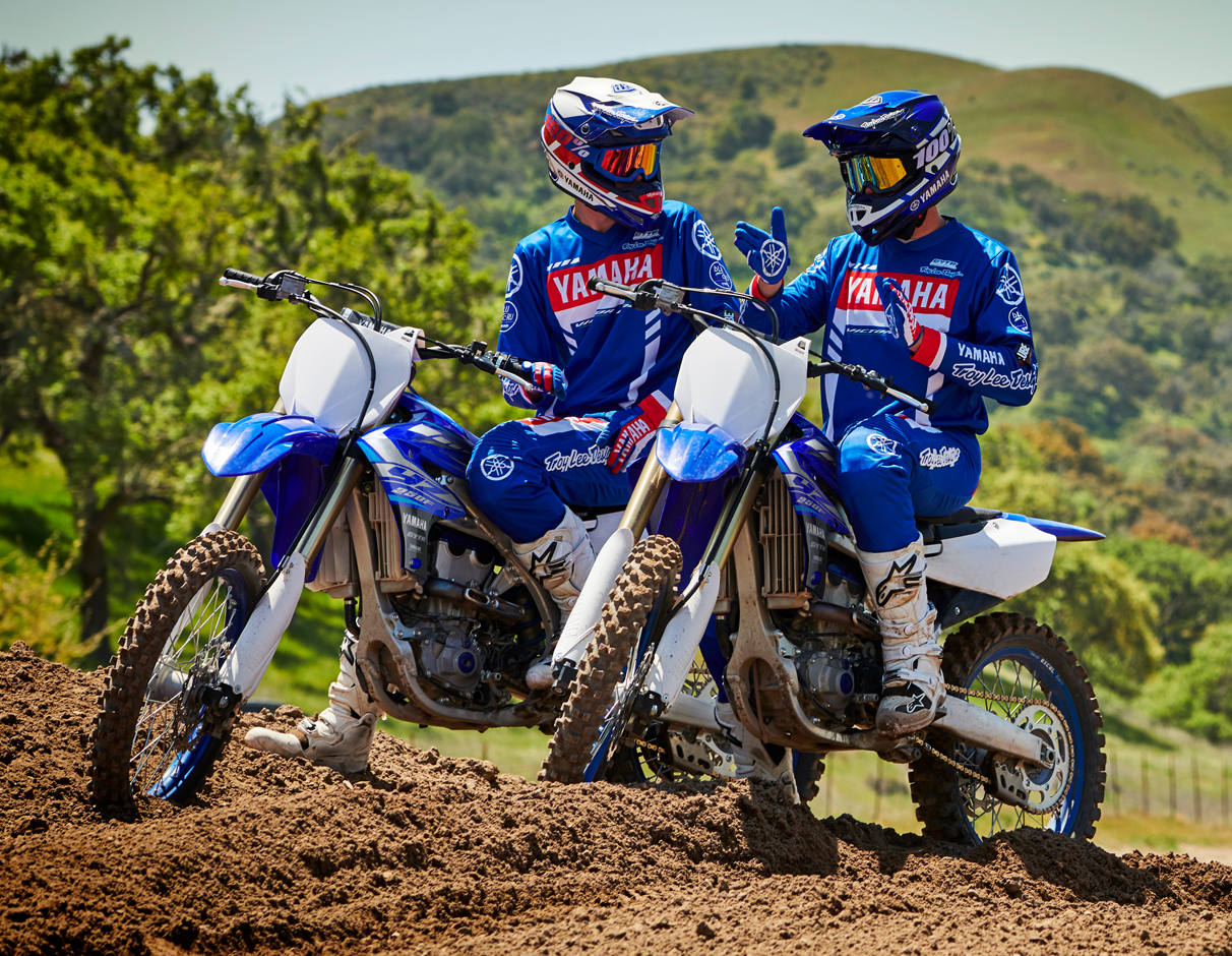 Action image of 2020 YZ250F