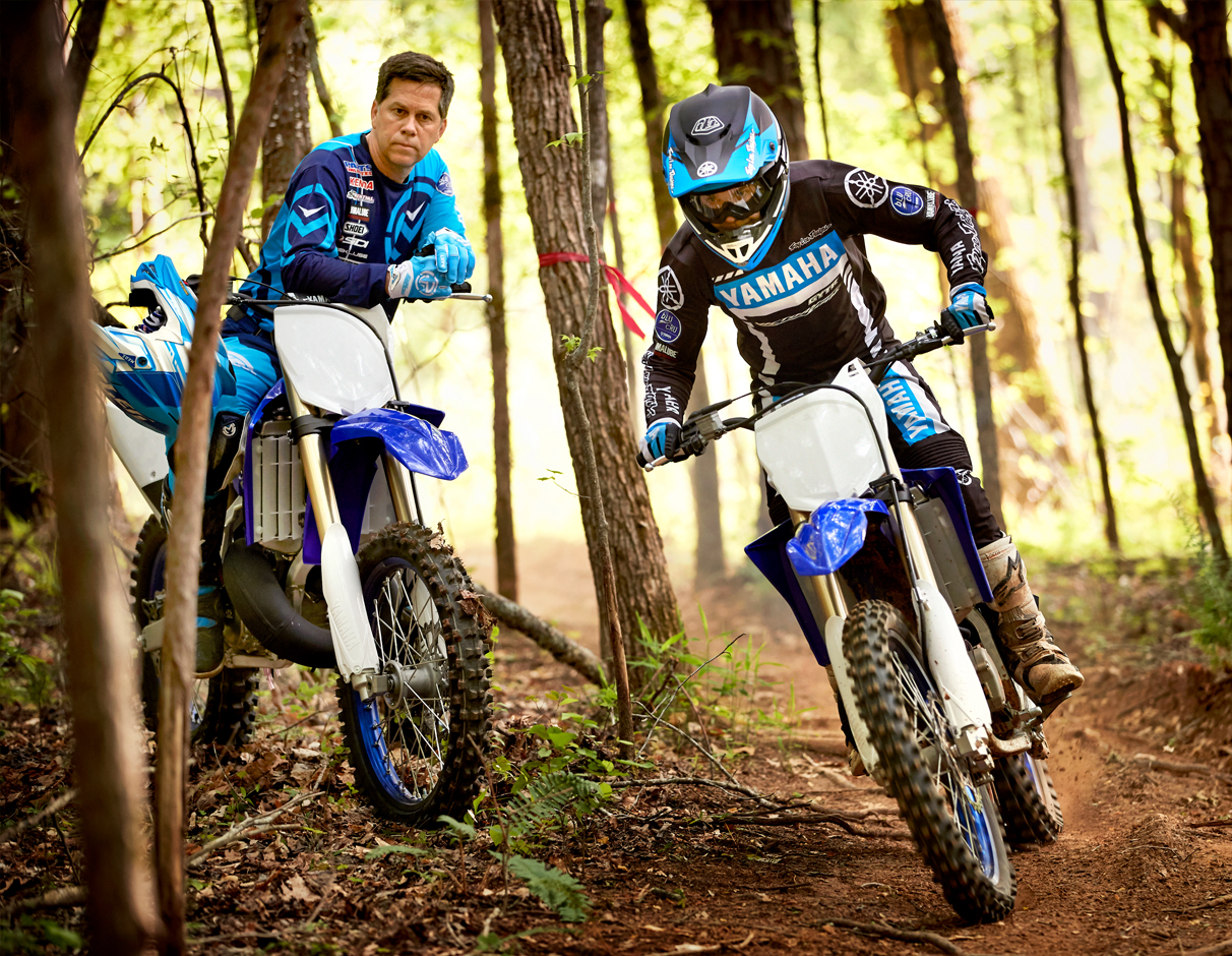 Action image of 2020 YZ125X (2-stroke)