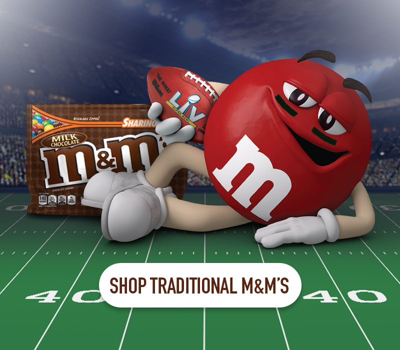 Click this banner to shop our tradtional M and M flavors
