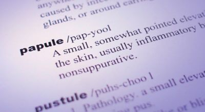 Papules and Pustules
